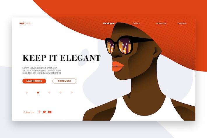 Thumbnail for Elegant - Banner & Landing Page