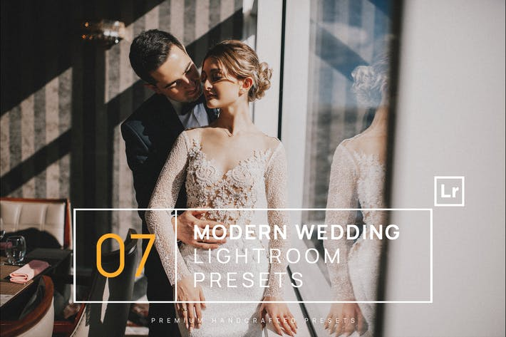 Thumbnail for 7 Modern Wedding Lightroom Presets + Mobile