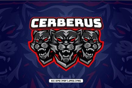Cerberus eSports Mascot Logo