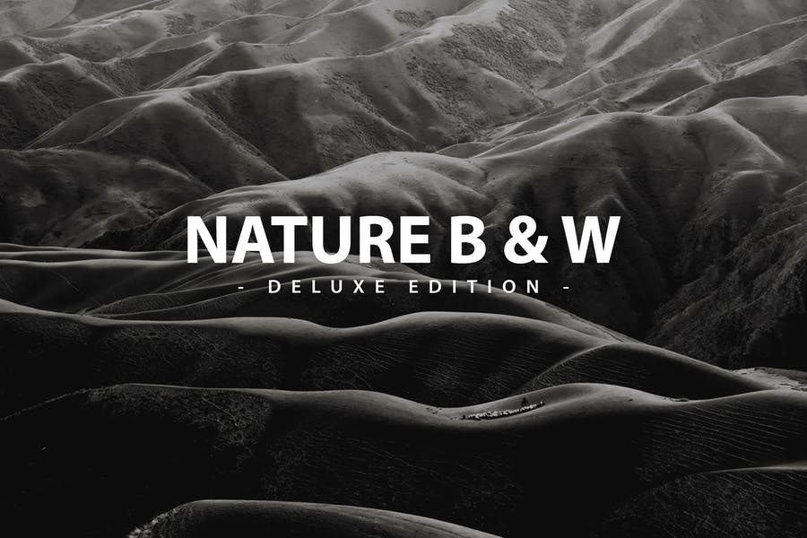 Nature B & W | Deluxe edition for Mobile and PC