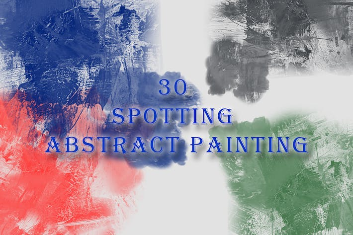Thumbnail for 30 Spotting Abstract Painting Brushes
