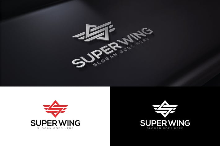 Cover Image For Super Wings Letter S Logo