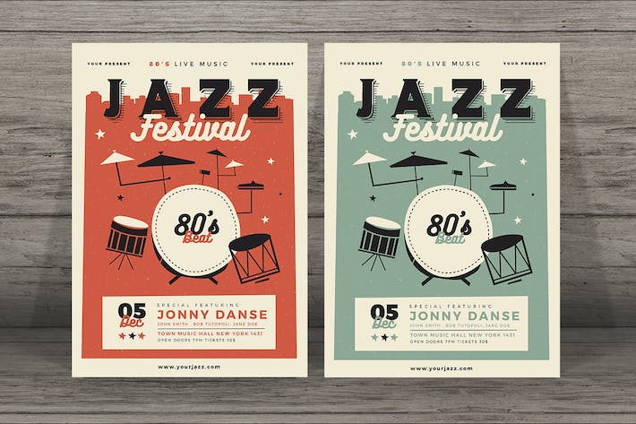 Cover Image For Jazz Festival Flyer