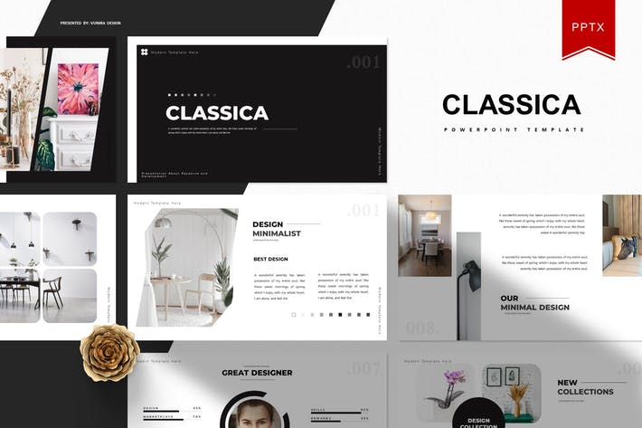 Cover Image For Classica | Шаблон Powerpoint