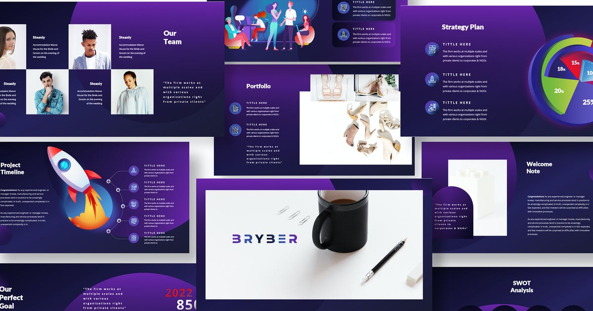 Download Corporate Pitch Deck Keynote Template by Incools