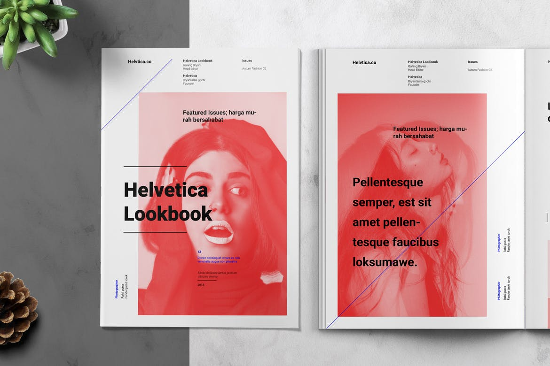Lookbook-/-Catalog-Template