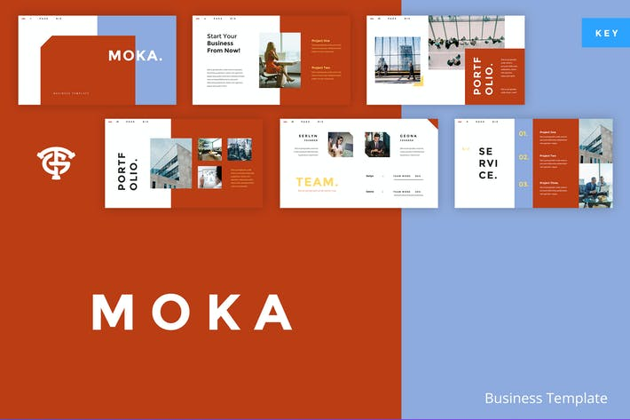 Thumbnail for Moka Business -  Keynote