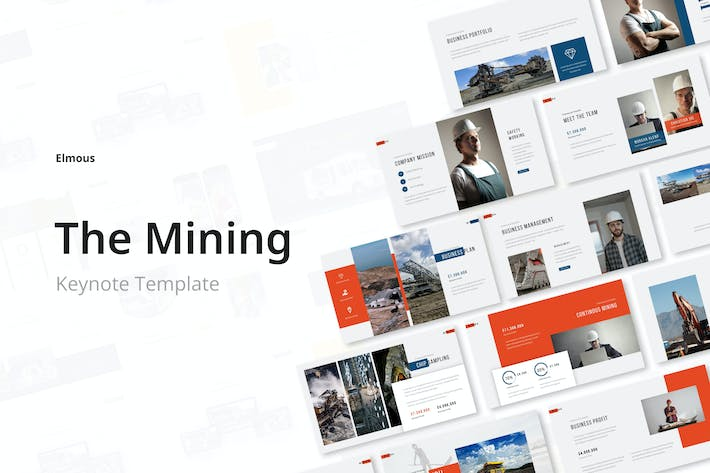 The Mining Keynote Presentation Template
