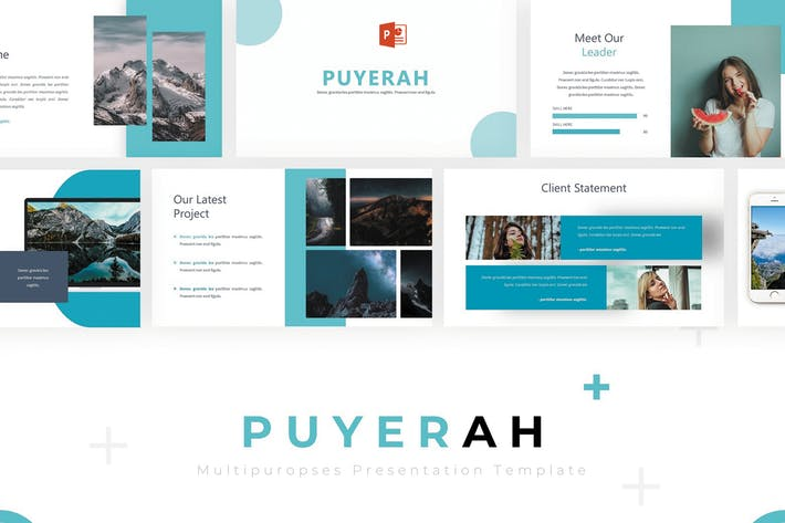 Thumbnail for Puyerah - Powerpoint Template
