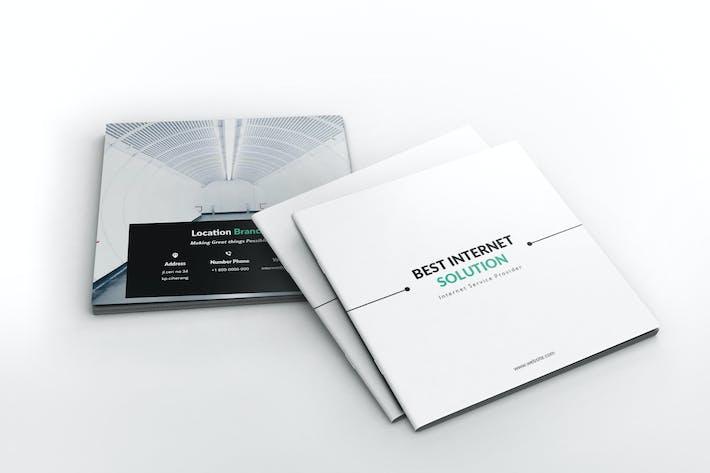 Thumbnail for Modèle de brochure ISP Square