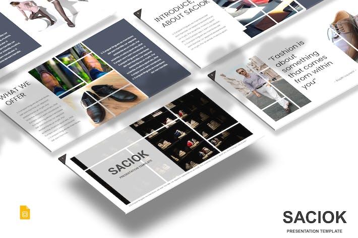 Thumbnail for Saciok - Google Slides Template