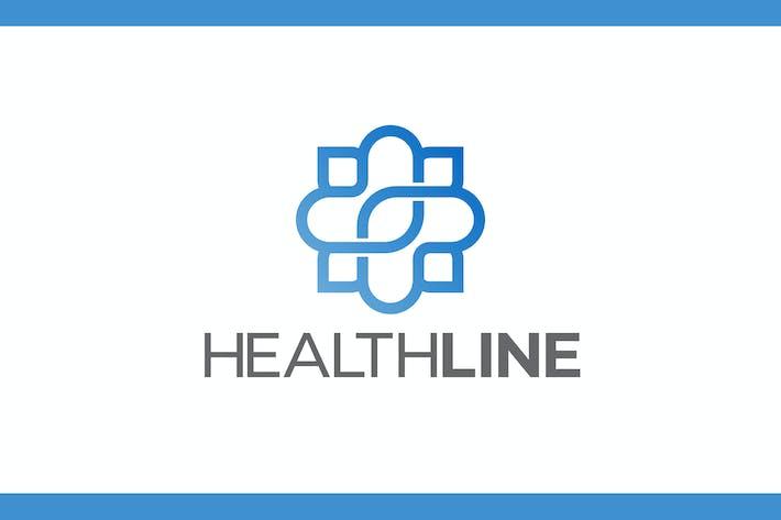 Thumbnail for Health Line Logo - Medical Logo
