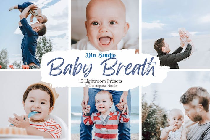 Thumbnail for Baby Breath Lightroom Presets