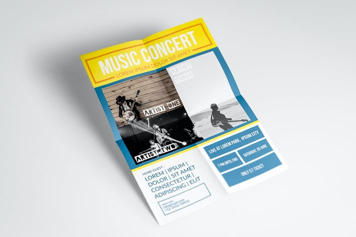 Thumbnail for Music Concert Flyer #1