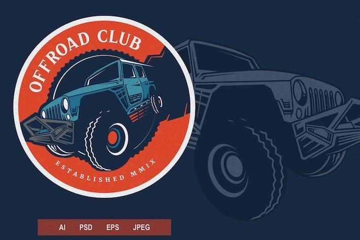 Thumbnail for Vintage Emblem - Offroad V3