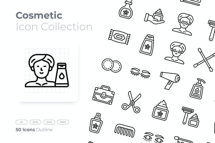 Cosmetic Outline Icon