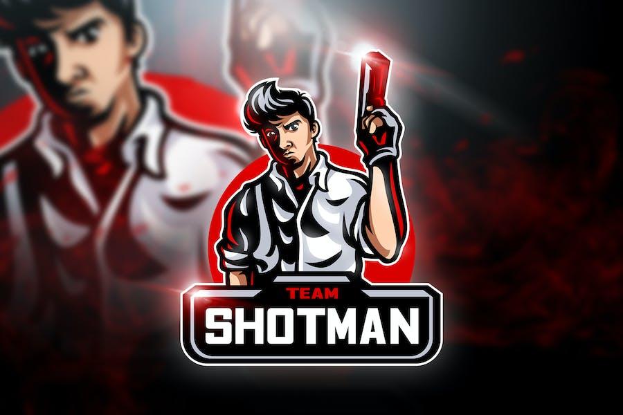 Shotman Team - Mascot & Esport Logo