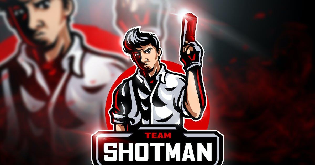 Download Shotman Team - Mascot & Esport Logo by aqrstudio