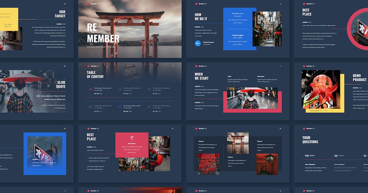 Download TORII - Travel Promotion by celciusdesigns