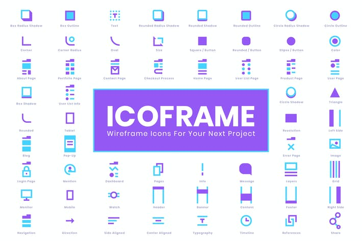 Thumbnail for Icoframe Icons