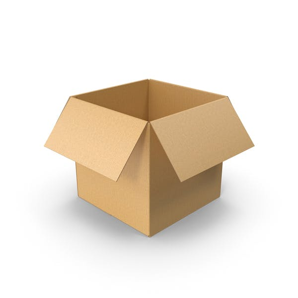 Thumbnail for Open Cardboard Box