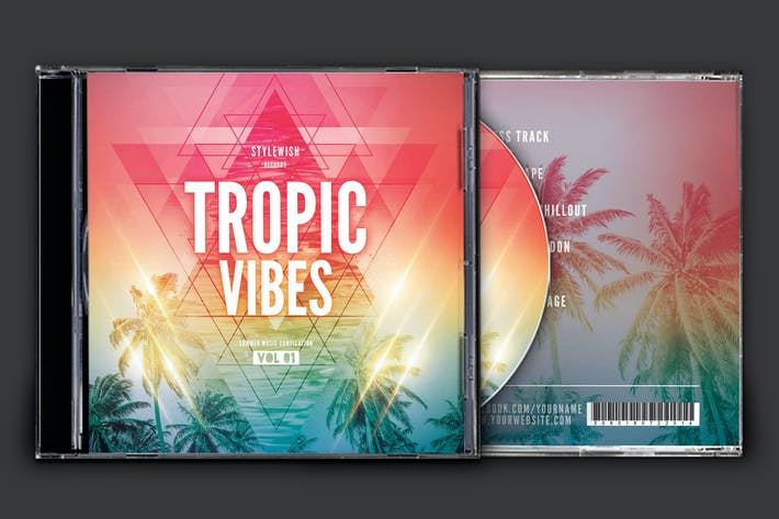 Thumbnail for Tropic Vibes CD Cover Artwork