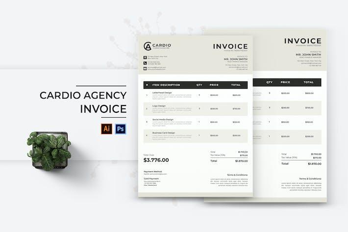 Cardio Agency Invoice