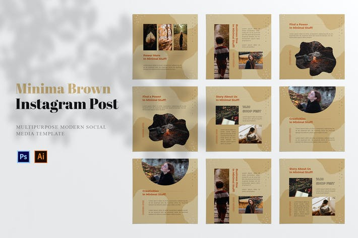 Minima Brown Social Media Post