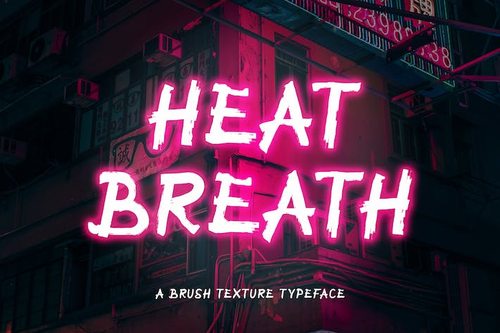 Thumbnail for Heat Breath - Fuente de textura de pincel