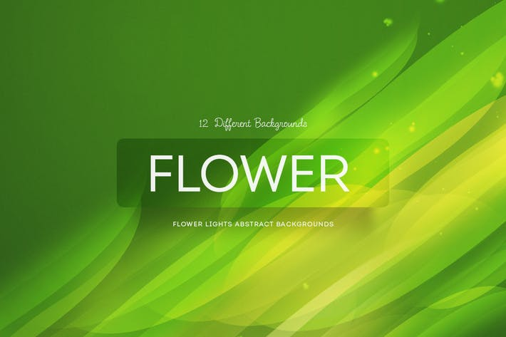 Thumbnail for Flower Lights Abstract Backgrounds
