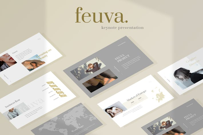 Thumbnail for Fueva - Fashion Keynote Presentation