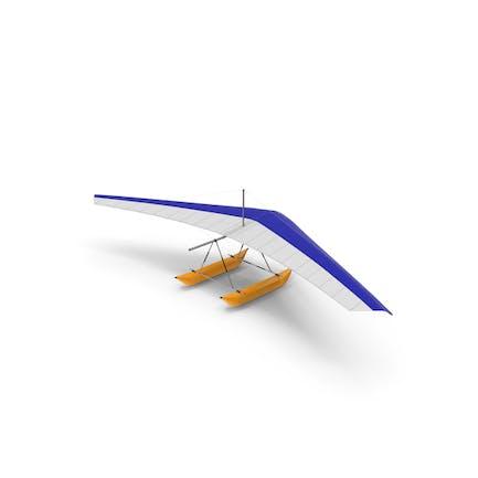 Drachenflieger mit aufblasbarem Ponton