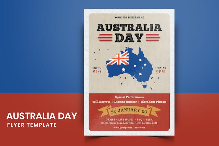 Thumbnail for Australia Day Flyer-01
