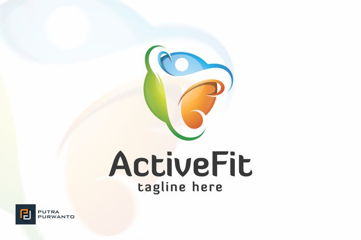 Thumbnail for Active Fit / People - Logo Template