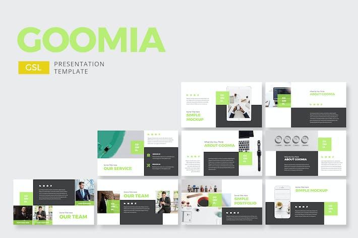 Thumbnail for Goomia Business - Google Slides
