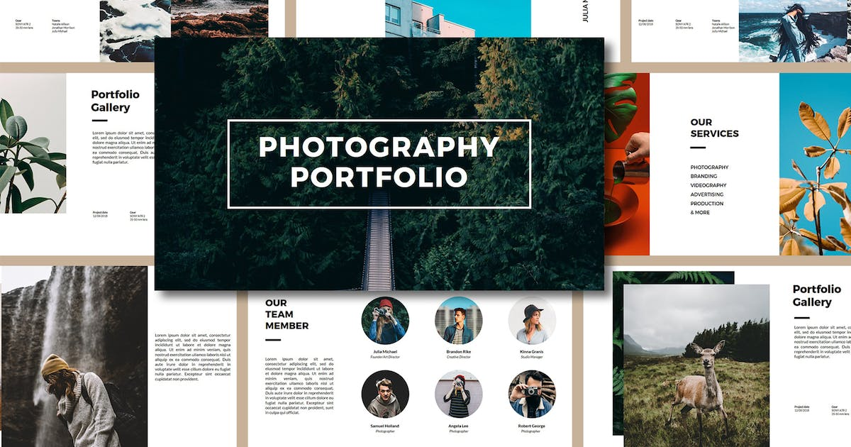 Download Photography Porfolio PowerPoint Template by BervisualStd