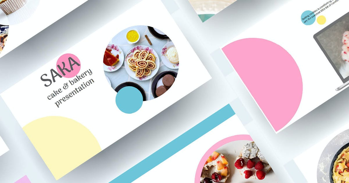 Download Saka - Cake & Bakery Keynote Presentation by raseuki