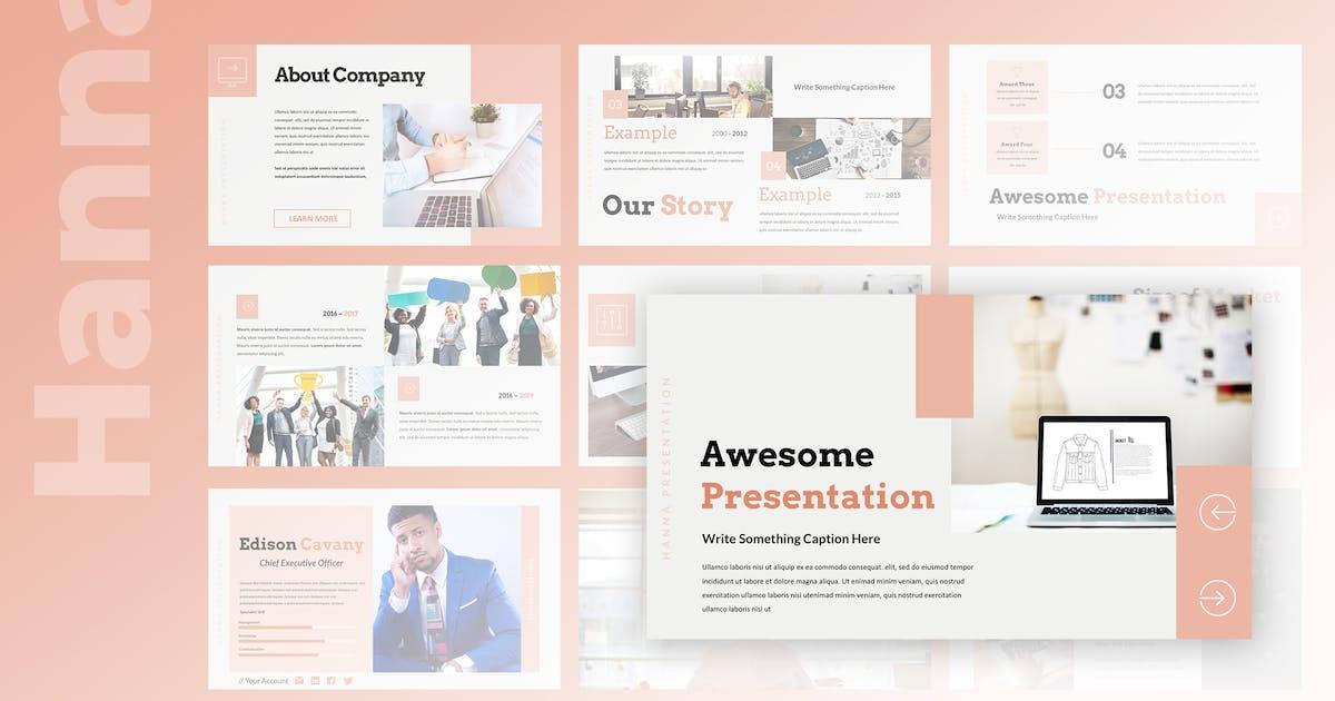 Hanna - Multipurpose Keynote Presentation by TMint