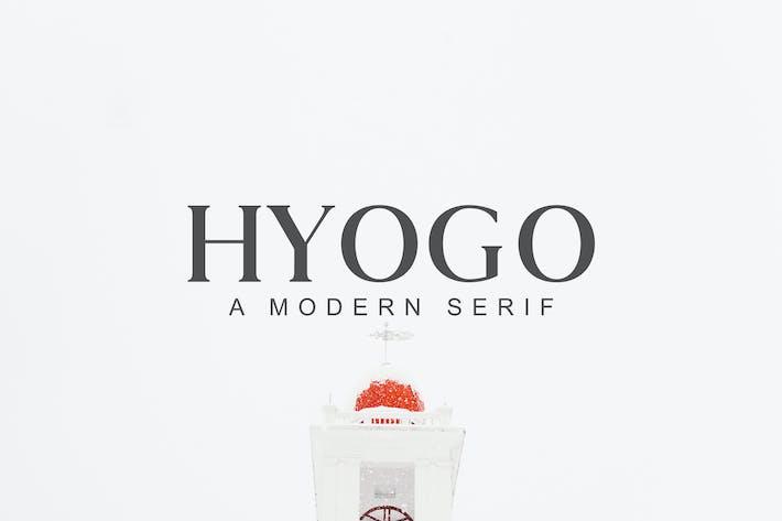 Thumbnail for Hyogo A Modern Serif Font Family