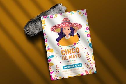 Cinco De Mayo Mexican Poster