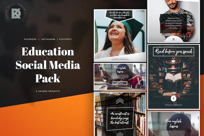 Thumbnail for Education Social Media Pack