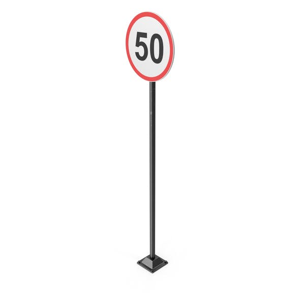Cover Image for 50km Road Sign