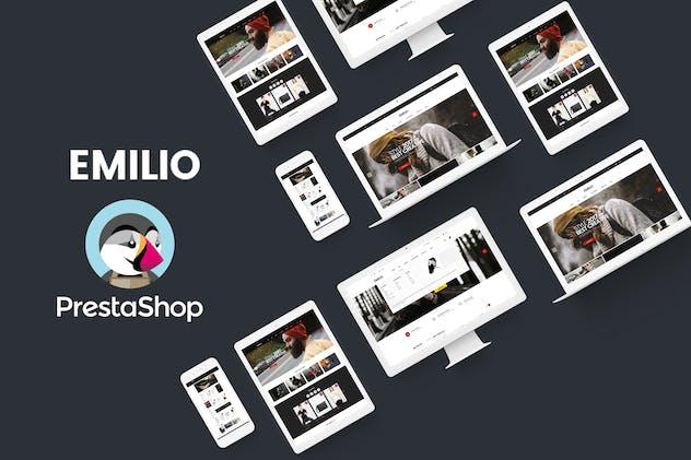 Emilio Responsive PrestaShop 1.6 & 1.7, Electronic