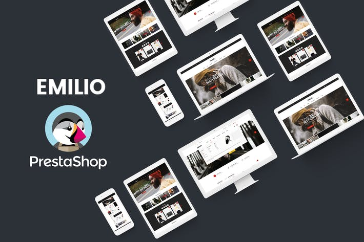 Thumbnail for Emilio Responsive PrestaShop 1.6 & 1.7, Électronique