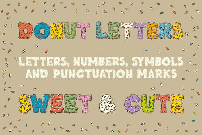 Thumbnail for Donut  Letters