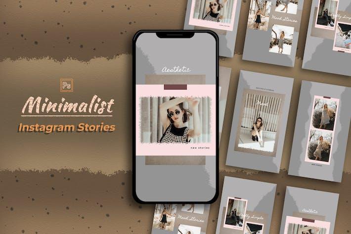 Thumbnail for Minimalistische Instagram-Story-Vorlage