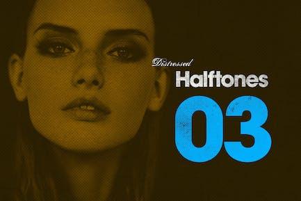 Distressed Halbtone 03
