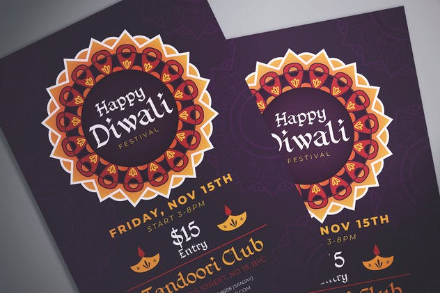 Diwali Celebration Flyer