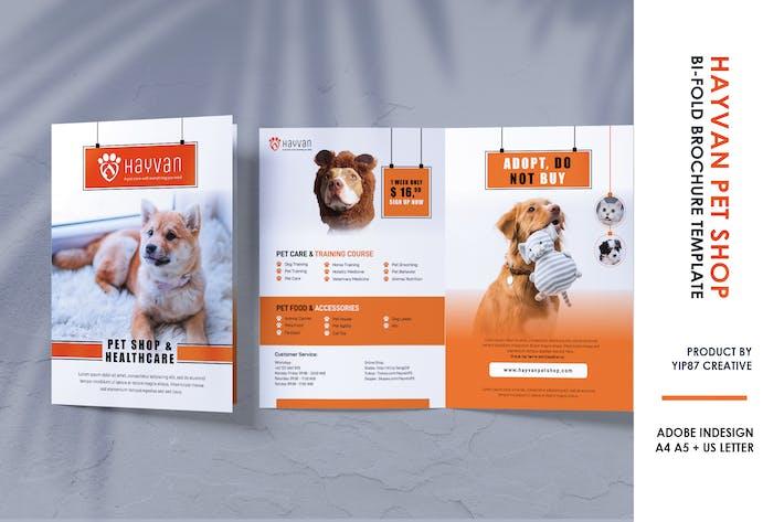 Thumbnail for Pet Shop - Petcare Bifold Brochure