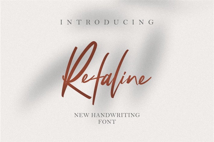 Thumbnail for Refaline Handwritten
